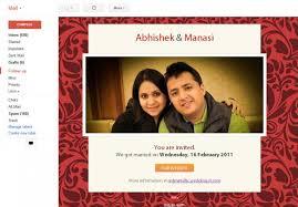 electronic wedding invitations lovely electronic wedding invitations to make easy on the eye