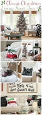 Christmas Living Room by Classic Christmas Living Room Tour The Happy Housie
