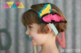 feather headbands feather headband diy the sewing rabbit