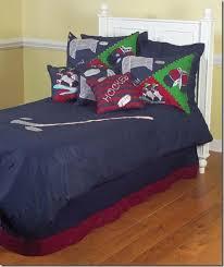 Hockey Bedding Set Enter To Win A Hockey Bedding Set Everyjoe Hockey Quilts