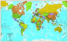 Interactive World Map Amazon Com Hemispheres World Interactive Wall Chart With Free App
