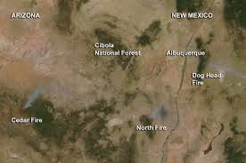 Oregon Forest Fires Map by Fires In New Mexico And Arizona Nasa