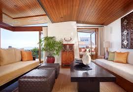 interior modern tropical bathroom design idea with indoor plant
