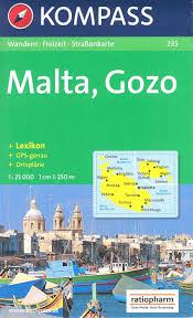 Home Decor Gozo by Malta And Gozo Hiking Map 1 25 000 Kompass 235 Amazon Co Uk