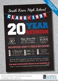 high school reunion invitations class reunion invitation large postcard mailer chevron tear