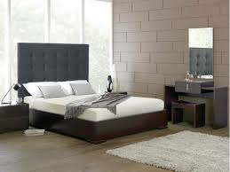 Black And White Tiles Bedroom Bedroom Modern Wooden Couchette With White Mattress And Black