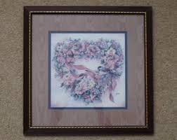 Homco Home Interiors Etsy - Home interior frames