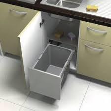poubelle de cuisine sous evier poubelle coulissante sélective vide déchets de plan de travail