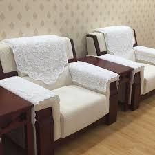Armchair Cushion Reception Hotel Conference Room Office Sofa Backrest Towel Armrest