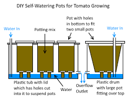diy self watering pots and mini wicking beds deep green permaculture