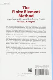 the finite element method linear static and dynamic finite