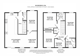 cul de sac floor plans 5 bedroom semi detached house for sale in riverford close