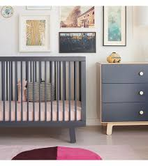 Oeuf Crib Mattress Oeuf Sparrow Collection Crib In Slate