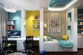 bright and colorful kids room designs with whimsical artistic features