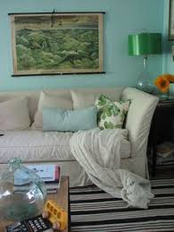 Slipcovers Made From Drop Cloths Sofa U0026 Chair Slipcovers Are Made Out Of Home Depot Drop Cloths And