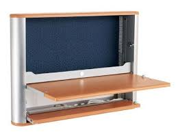 fold out wall desk less is more fold away wall desks treehugger