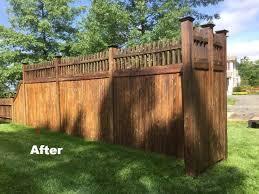 deck staining fence staining madison nj