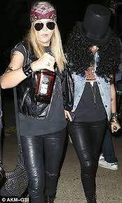 Slash Halloween Costume Jessica Alba Guns U0027 Roses Guitarist Slash Halloween