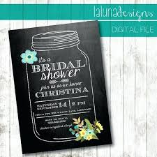 jar bridal shower invitations chalkboard jar bridal shower invitations mounttaishan info