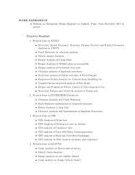 exle of a basic resume resume