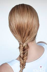 plait at back of head hairstyle hairstyles for wet hair 3 simple braid tutorials you can wear in