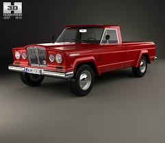 jeep honcho custom jeep gladiator 1962 3d model hum3d