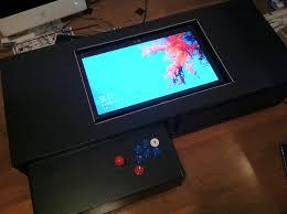 coffee table game console swangle my diy arcade machine coffee table