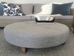 Ottomans Ebay Furniture Ottoman Coffee Table Luxury Large Grey Tufted