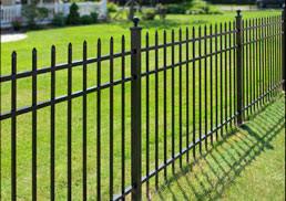 aluminum products cedar fence