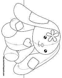 don u0027t eat the paste bunny coloring page
