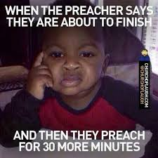 Preach Meme - and people keep saying preach on preacher and your stomach is