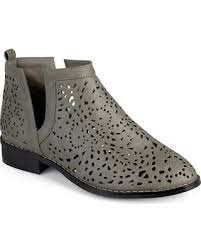 womens grey boots size 11 great deals on journee collection payton s ankle boots size
