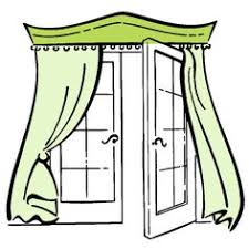 Valances For French Doors - solution for the sliding patio door use a one piece wood rod