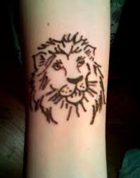 lion henna tattoo modern art for ladies design idea for men and women