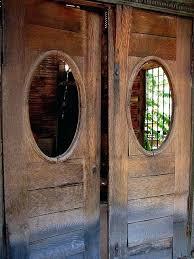 Interior Swinging Doors Fascinating Swinging Doors For Kitchen Suited For Your Hotel