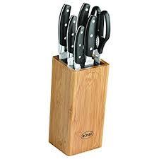 rosle cuisine amazon com rösle 13050 knife block cuisine german knife block 7