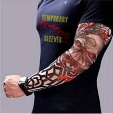model w18 wearable sleeve sleeve with image