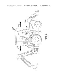 driver assistance device for a backhoe loader vehicle diagram