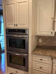 kitchen cabinet makeover with chalk paint greenville sc