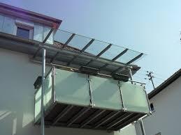 balkon vordach vordächer vordächer heindel gmbh stahl und metallbau