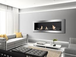 wall mount ethanol fireplace chantico fire impulse wall mounted
