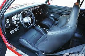 Diamond Tuck Interior 1968 Chevy Camaro Rs Ss Camaro Performers Magazine