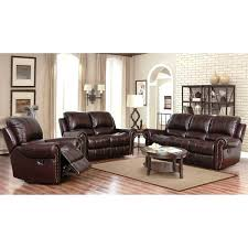 Recliner Leather Sofa Set 3 Reclining Living Room Set Furniture Recliner Sofa Sets New
