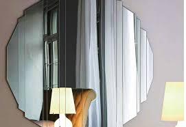 unique decorative bathroom mirrors interior design ideas