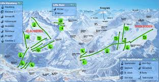 Piste Maps For Italian Ski by Klausberg Piste Map Trail Map