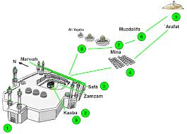 Mecca On Map Masjid Al Haram Islam Maps
