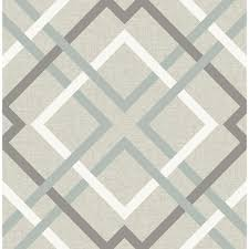 a street saltire taupe plaid wallpaper 2697 22649 the home depot