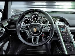 Porsche 918 Concept - 2010 porsche 918 spyder concept interior dashboard wallpaper 9