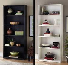 White Tall Bookcase White Bookcase Ebay
