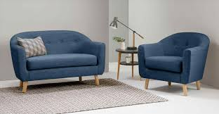 center blue velvet chesterfield best ideas navy dot sofas blue
